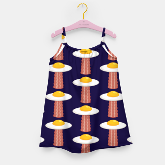 Thumbnail image of Eggstraterrestrial Pattern Girl's dress, Live Heroes