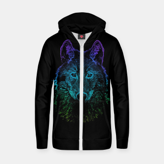 Imagen en miniatura de Rainbow Wold Animal Wild Wildlife Wilderness  Zip up hoodie, Live Heroes