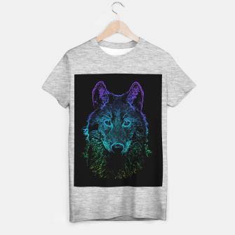 Imagen en miniatura de Rainbow Wold Animal Wild Wildlife Wilderness  T-shirt regular, Live Heroes