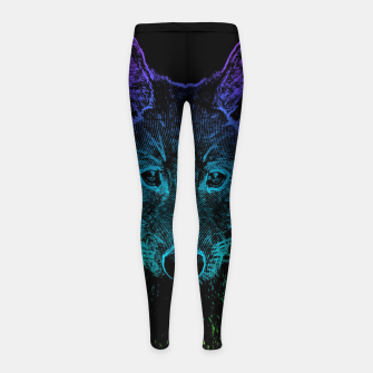Imagen en miniatura de Rainbow Wold Animal Wild Wildlife Wilderness  Girl's leggings, Live Heroes