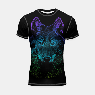 Miniature de image de Rainbow Wold Animal Wild Wildlife Wilderness  Shortsleeve rashguard, Live Heroes