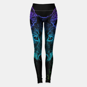 Imagen en miniatura de Rainbow Wold Animal Wild Wildlife Wilderness  Leggings, Live Heroes