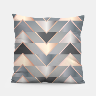 Miniature de image de Modern Triangles Pillow, Live Heroes