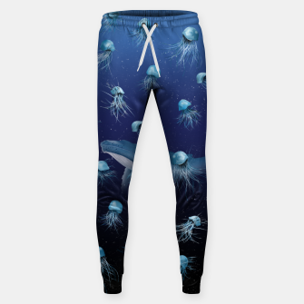 Thumbnail image of Jellyfish pattern Sweatpants, Live Heroes