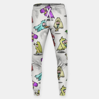 Miniatur Cute Bird Pattern Sweatpants, Live Heroes