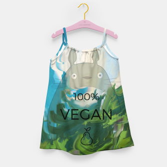 Miniaturka vegan Girl's dress, Live Heroes