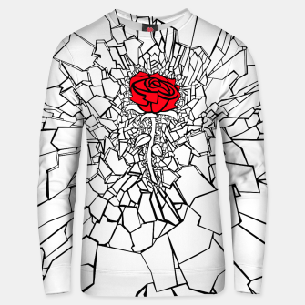 Thumbnail image of The Shattered Rose II Unisex sweater, Live Heroes