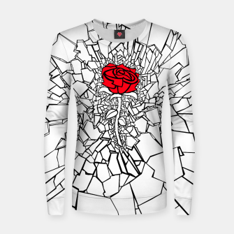 Thumbnail image of The Shattered Rose II Women sweater, Live Heroes