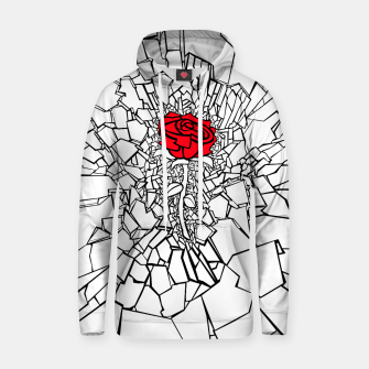 Thumbnail image of The Shattered Rose II Hoodie, Live Heroes