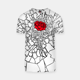 Thumbnail image of The Shattered Rose II T-shirt, Live Heroes