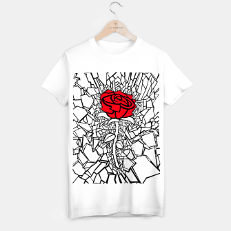 Thumbnail image of The Shattered Rose II T-shirt regular, Live Heroes