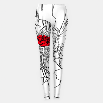 Thumbnail image of The Shattered Rose II Leggings, Live Heroes