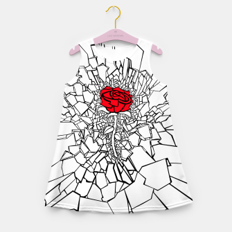 Thumbnail image of The Shattered Rose II Girl's summer dress, Live Heroes