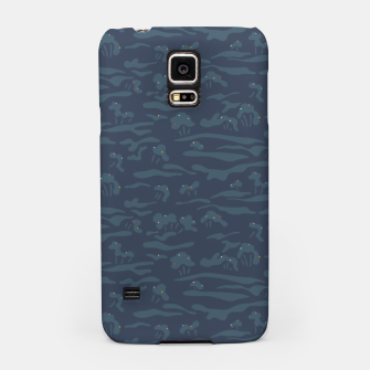 Thumbnail image of Fireflies night dance amid the trees Samsung Case, Live Heroes