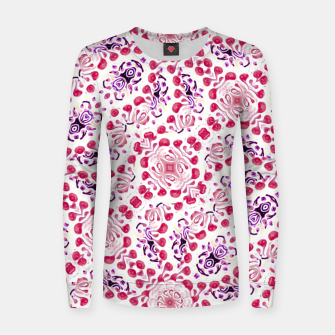 Thumbnail image of Modern Ornate Pattern Design Women sweater, Live Heroes