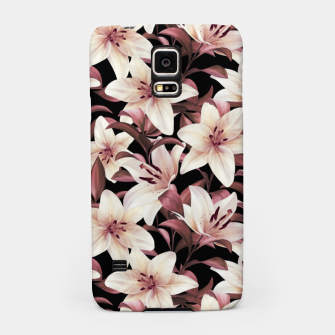 Thumbnail image of Lilies on black Samsung Case, Live Heroes