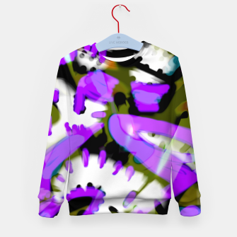 Thumbnail image of monstros Kid's sweater, Live Heroes