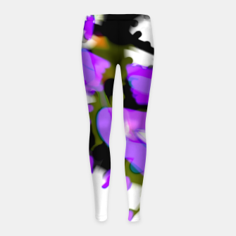 Thumbnail image of monstros Girl's leggings, Live Heroes