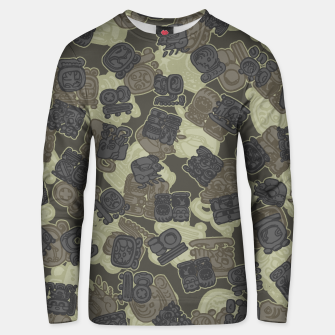 Thumbnail image of Mayan Temple Camo AZTEC DESERT Unisex sweater, Live Heroes