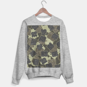 Thumbnail image of Mayan Temple Camo AZTEC DESERT Sweater regular, Live Heroes