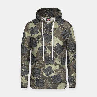 Thumbnail image of Mayan Temple Camo AZTEC DESERT Hoodie, Live Heroes