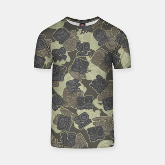 Thumbnail image of Mayan Temple Camo AZTEC DESERT T-shirt, Live Heroes