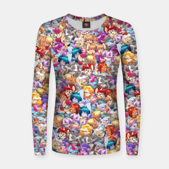 Thumbnail image of MLP ahegao Women sweater, Live Heroes