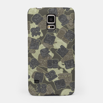 Thumbnail image of Mayan Temple Camo AZTEC DESERT Samsung Case, Live Heroes
