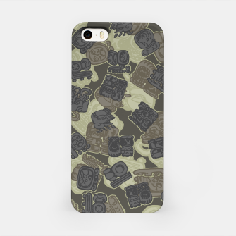 Thumbnail image of Mayan Temple Camo AZTEC DESERT iPhone Case, Live Heroes