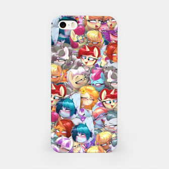 Thumbnail image of MLP ahegao iPhone Case, Live Heroes