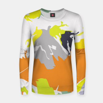 Thumbnail image of light floral Women sweater, Live Heroes