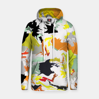 Thumbnail image of light floral Hoodie, Live Heroes