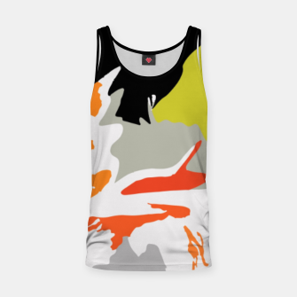 Thumbnail image of light floral Tank Top, Live Heroes