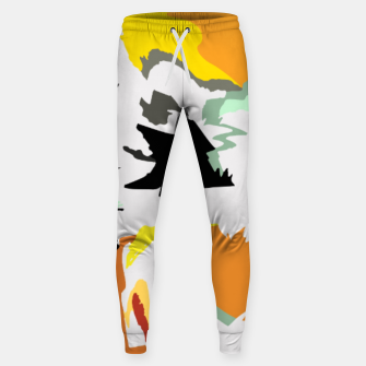 Thumbnail image of light floral Sweatpants, Live Heroes