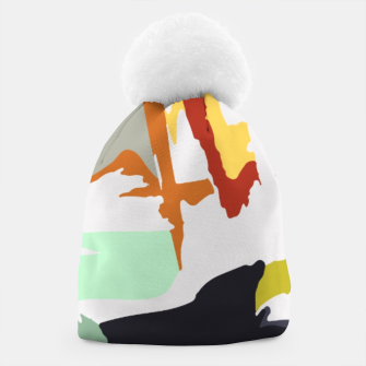 Thumbnail image of light floral Beanie, Live Heroes