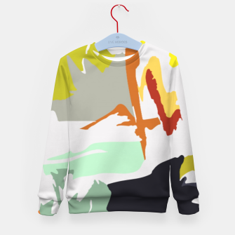 Thumbnail image of light floral Kid's sweater, Live Heroes