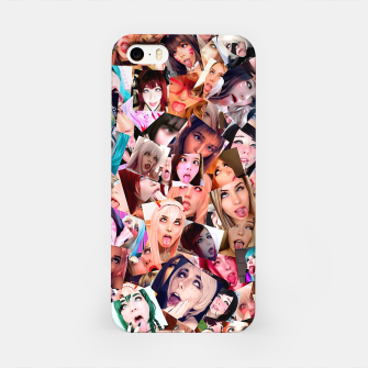 Real 3D Ahegao cosplay iPhone Case thumbnail image