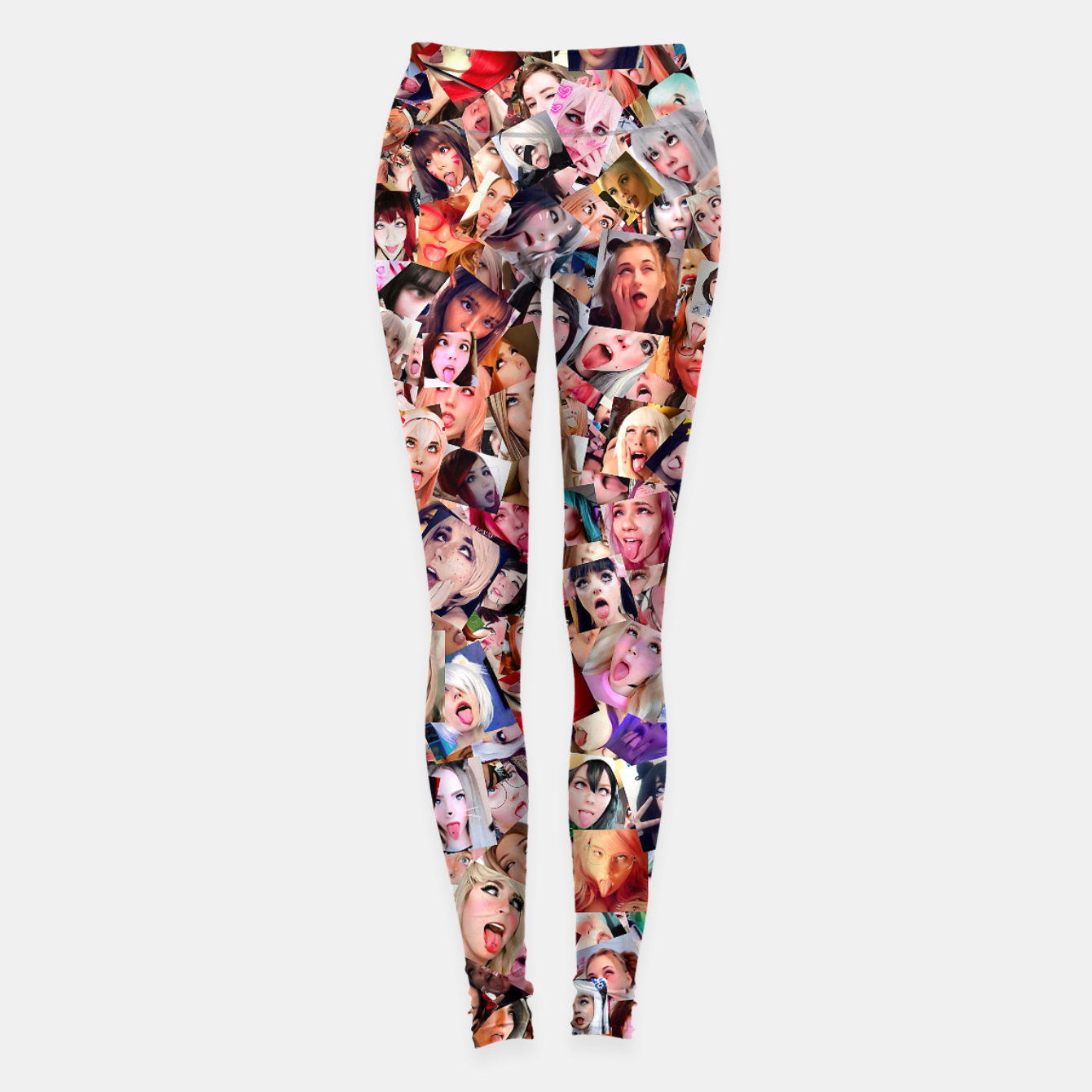 Image of Real 3D Ahegao cosplay Leggings - Live Heroes