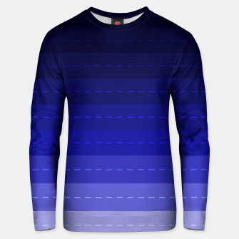 Thumbnail image of Blue Stripped Pattern design Unisex sweater, Live Heroes
