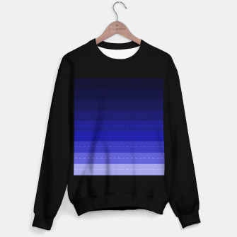 Thumbnail image of Blue Stripped Pattern design Sweater regular, Live Heroes