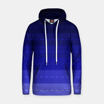 Thumbnail image of Blue Stripped Pattern design Hoodie, Live Heroes