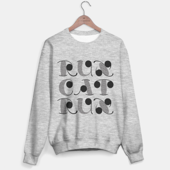 Thumbnail image of RunCatRun visual noise font in grey Sweater regular, Live Heroes