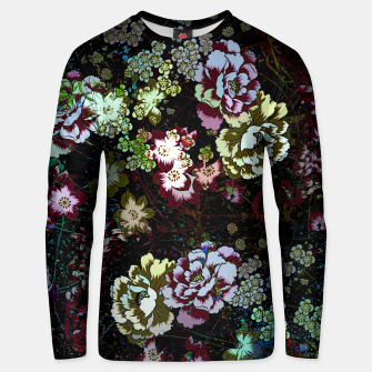 Miniatur Chinese peonies Unisex sweater, Live Heroes