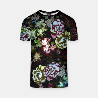 Miniatur Chinese peonies T-shirt, Live Heroes