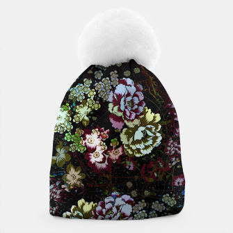 Thumbnail image of Chinese peonies Beanie, Live Heroes