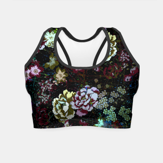 Thumbnail image of Chinese peonies Crop Top, Live Heroes