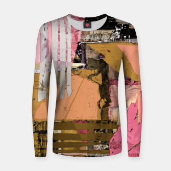 Thumbnail image of Obstacle course Women sweater, Live Heroes