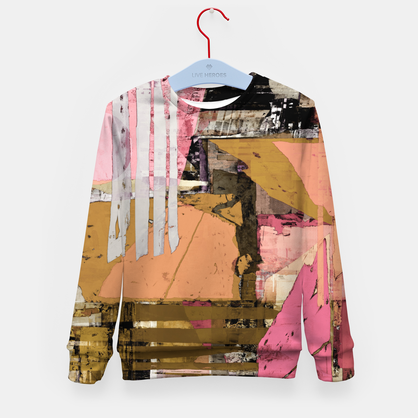 Image of Obstacle course Kid's sweater - Live Heroes