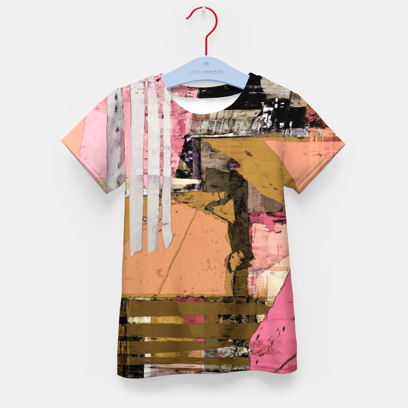 Image of Obstacle course Kid's t-shirt - Live Heroes