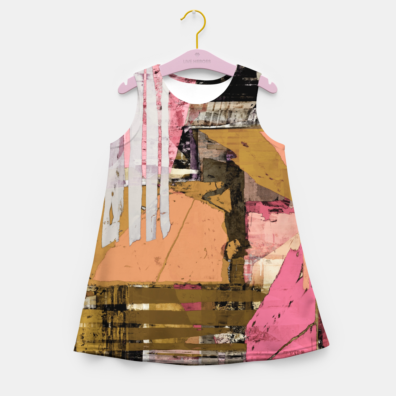 Image of Obstacle course Girl's summer dress - Live Heroes